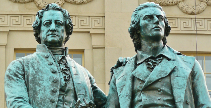 Goethe und Schiller Sturm und Drang